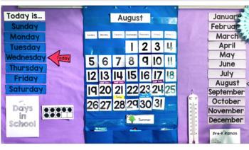 Complete Calendar Pocket Chart Sets