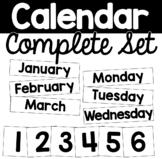 Complete Calendar Pocket Chart Sets Morning Meeting Board