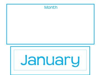 Complete Calendar Set