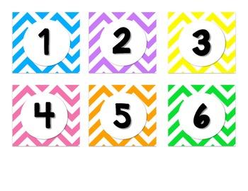 Complete Calendar Set - Chevron
