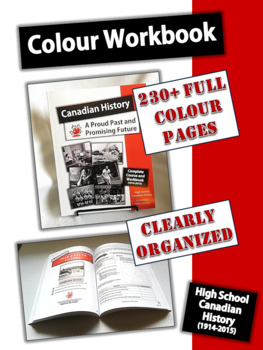 Complete Canadian History Course Workbook and CD