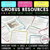 Complete Chorus Handbook and Chorus Lesson Plans BUNDLE