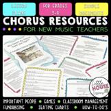 Chorus Handbook, Chorus Lesson Plans BUNDLE