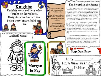 Complete Christmas in Camelot Unit with King Arthur Introduction