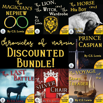 Chronicles of Narnia Novel Study Unit Bundle