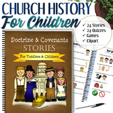 Complete Church History Stories (For Toddlers and Children) - INSTANT DOWNLOAD