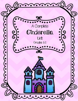 Complete Cinderella Unit Print and Go