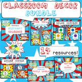 Complete Classroom BUNDLE in Comic Book Theme