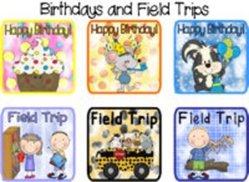 Complete Classroom Calendar Kit