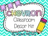 Complete Classroom Decor Kit: Chevron