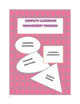 Classroom Management Complete: effective use of procedures, rules, consequences