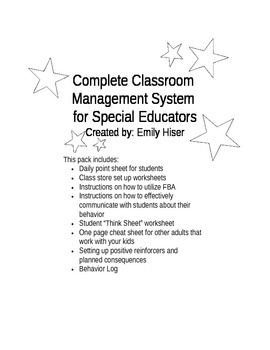 Complete Classroom Management System - Editable
