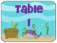 Complete Classroom Decor Pack:  Sea Life Theme