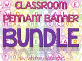 Complete Classroom Pennant Banner Bundle