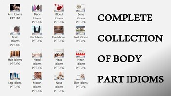 Complete Collection of Body Part Idioms