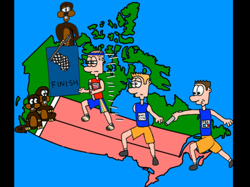 Complete Collection of Canadian History Cartoons (28 Cartoons) .PDF Format