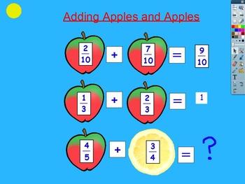 Complete Common Core Fifth Grade Fractions Unit- ActiveInspire Flipchart