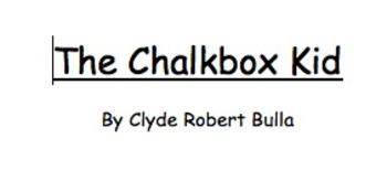 Complete Comprehension Guide to The Chalkbox Kid