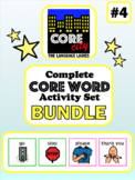 Complete Core Word Activity Set Bundle 4: GO, STOP, PLEASE, THANK YOU