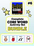 Complete Core Word Activity Set Bundle 6: GOOD, BAD, AGAIN, WOW