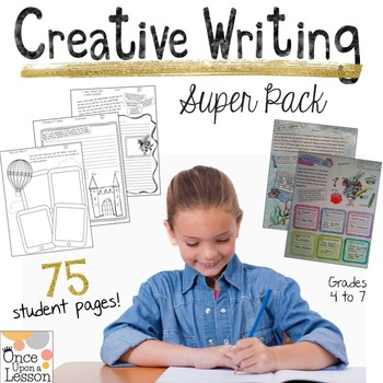 Creative Writing Super Pack - Grades 4 to 7