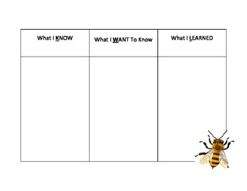 Complete Cross-Curricular English Bees Unit