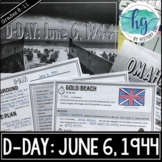 D-Day PowerPoint and Guided Notes (Print and Digital)