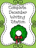 Complete December Writing Station