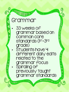 Complete! ~ Differentiated! ~ Phonic and Grammar Curriculum ~ 1st-3rd Grade