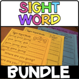Dolch Sight Word Bundle - 220 Dolch Sight Words