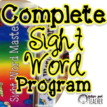 Complete Dolch Sight Word Program