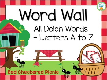 Word Wall with Sight Words