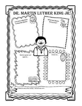 Complete Dr. Martin Luther King Jr. Mini-Unit