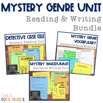 Complete ELA Mystery Genre Unit {Reading & Writing}
