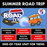 END OF YEAR ACTIVITIES - - - SUMMER ROAD TRIP - INCLUDES BONUS BOARD GAME!