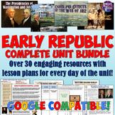 Early American History Unit Plan Set
