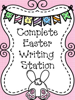 Complete Easter Writing Station