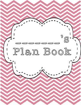 Complete Editable Plan Book