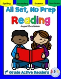Complete No Prep English Language Arts August and September