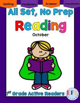 Complete No Prep English Language Arts October