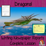 Complete English Lesson on Newspaper Reports