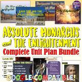 Absolute Monarchs and Enlightenment Complete Unit Bundle