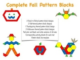 Complete Fall Pattern Blocks