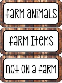 Complete Farm Unit - Science Lessons, Literacy Centers, Math Centers, and More!