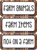 Complete Farm Unit - Science Lessons, Literacy Centers, Ma