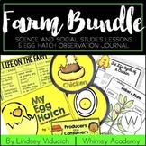 Complete Farm Unit and Egg Hatch Observation Notebook BUNDLE