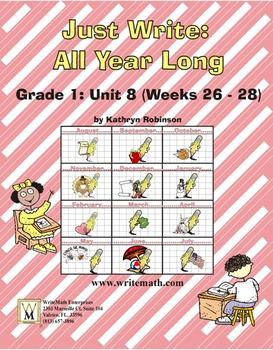 Daily First Grade Writing Lessons, Activities, Grammar - U