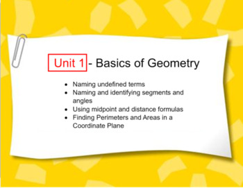 Complete First Lesson in Geometry CC Course - Points, Lines, Planes