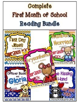 Complete First Month of School Reading Bundle