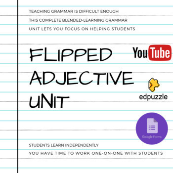 Complete Flipped Adjective Lesson and Practice